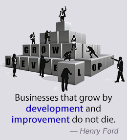 Businesses that grow