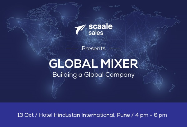 Global Mixer – Global series of monthly events by Scaale Sales
