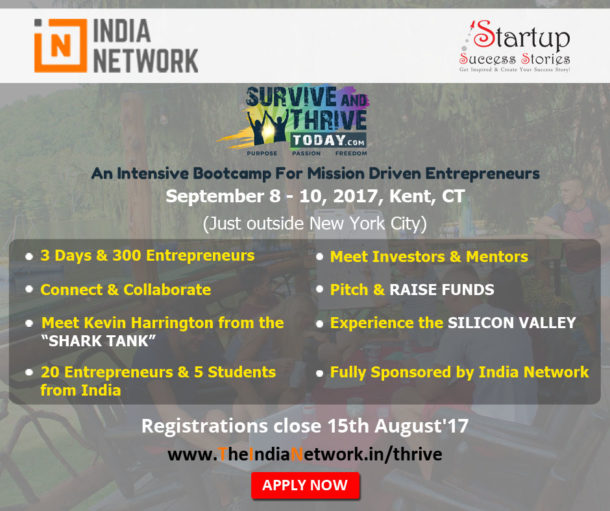 Survive & Thrive 2017 - Bootcamp for Mission Driven Entrepreneurs NYC Silicon Valley