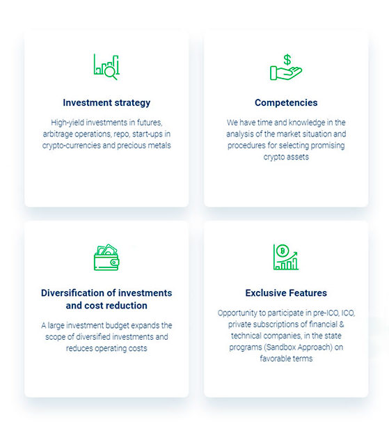 Crassula Capital has more opportunities than a private investor, minimizes risks and transaction costs and builds an effective strategy for speculative trading and long-term investment